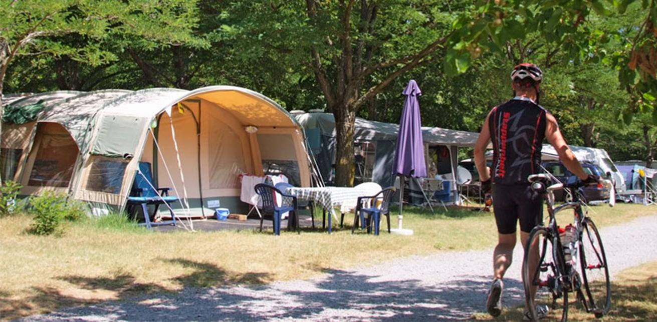 Camping Coeur d'ardeche : Plan du camping en ardèche