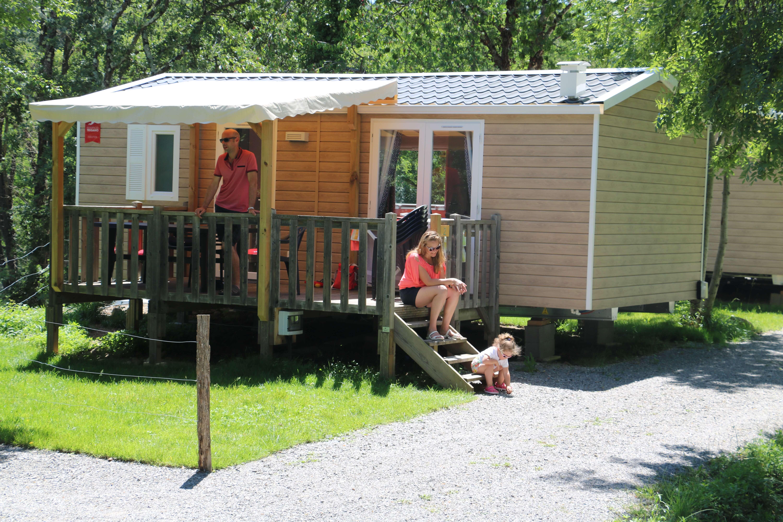Les hébergements du Camping Chambourlas - Coeur d'ardeche