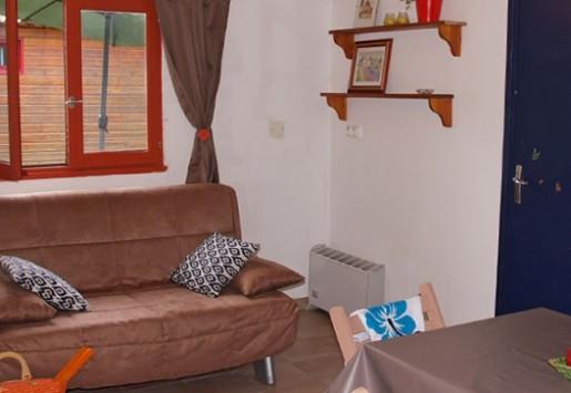 Photo du chalet 6 places du camping au coeur de l'Ardèche