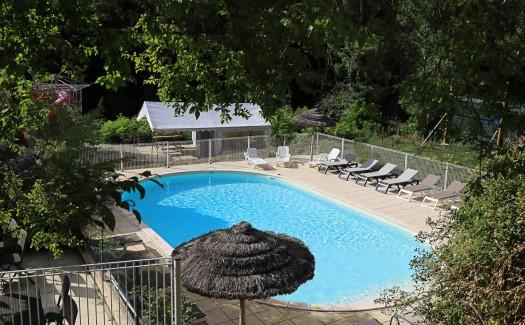 Le Chambourlas, Un camping 3 étoiles en Ardèche