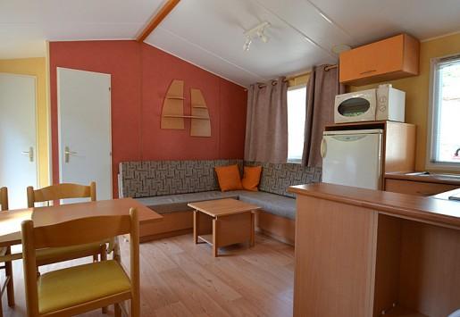 Photo du mobil-home 6 places du camping au coeur de l'Ardèche
