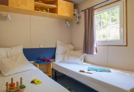 Photo du mobil-home 8 places du camping au coeur de l'Ardèche