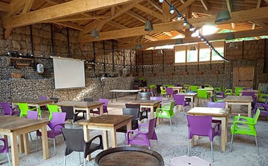 Le restaurant du camping en Ardèche La Grange : anniversaire, mariage, cousinade, ...